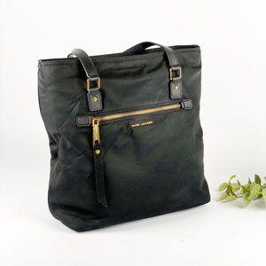 Marc Jacobs Trooper Tote Bag Purse Black Nylon